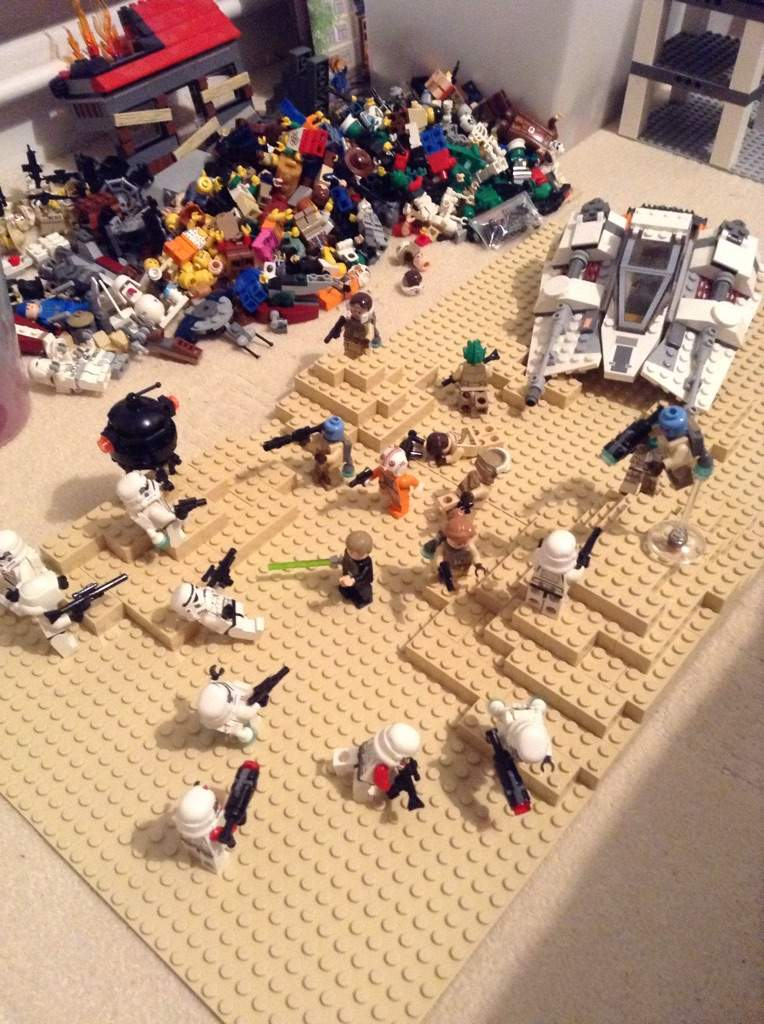 Lego star wars battlefront battle on jakku moc star - Lego star wars 1 2 3 4 5 6 ...