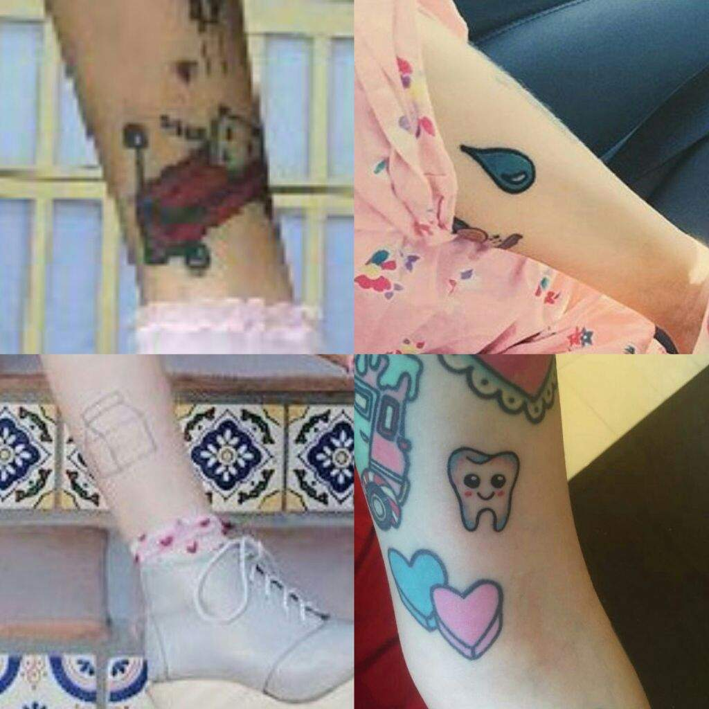 Crying Baby Tattoo: TATTOOS 🍦 🐻