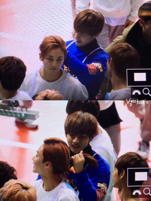 Taehyung With Bts And Jeonghan With Seventeen Isac K Pop Amino