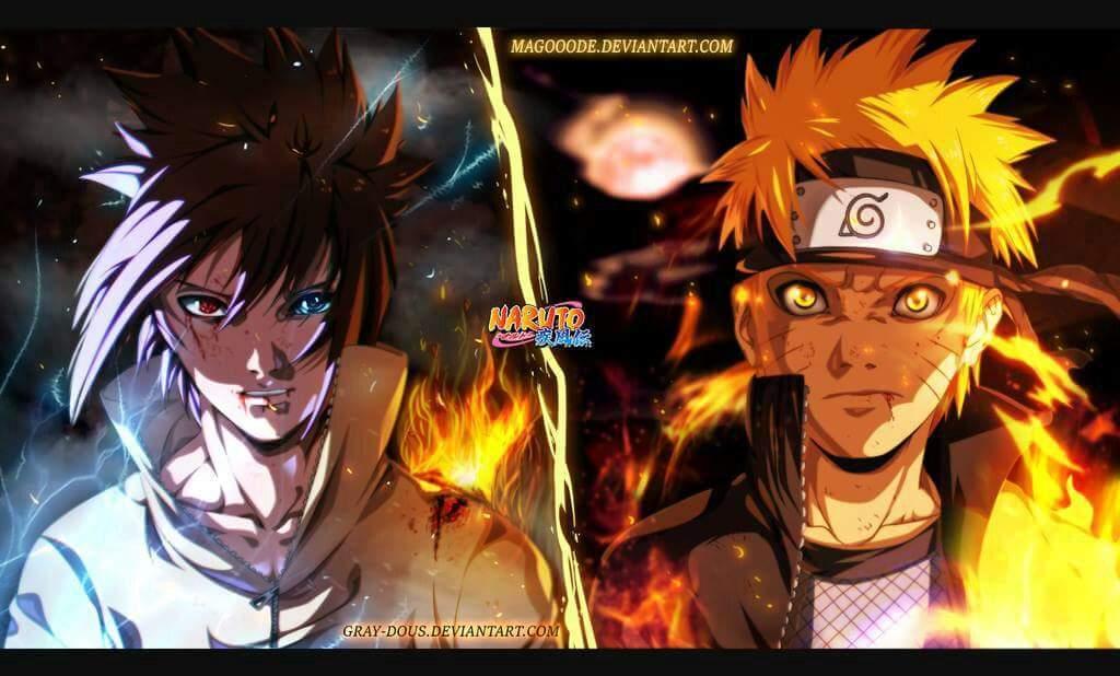 Naruto vs Sasuke, Who Is Stronger?! Kishimoto Answered It ...