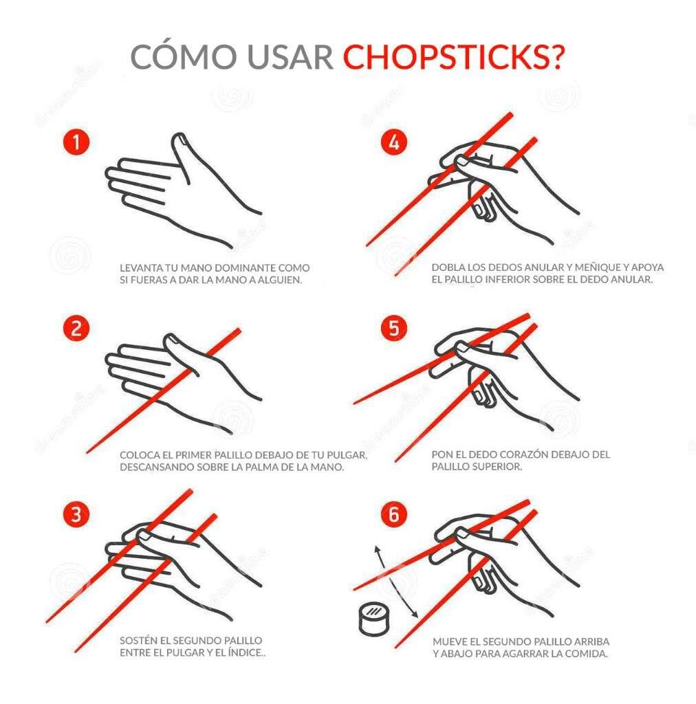  •Como comer con palillos•    •K-Pop• Amino