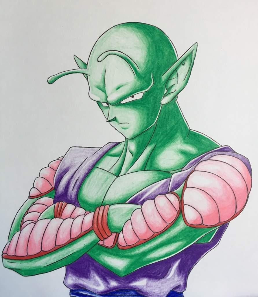 Piccolo drawing | DragonBallZ Amino