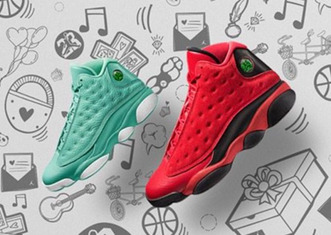 36f52e28fff1c0 Air Jordan 13 What is Love Pack