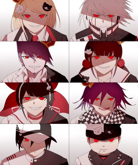 danganronpa  theory    mastermind anime