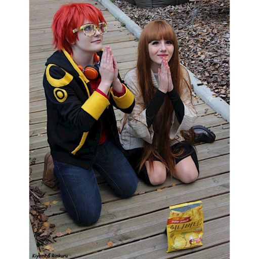 Mc mystic messenger cosplay