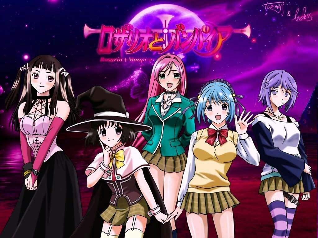 Anime De Rosario Vampire rosario + vampire /rosario +vampire capu | anime amino
