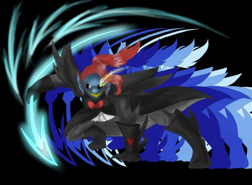 Undyne the Undying wallpaper-FREE TO USE   Undertale Amino