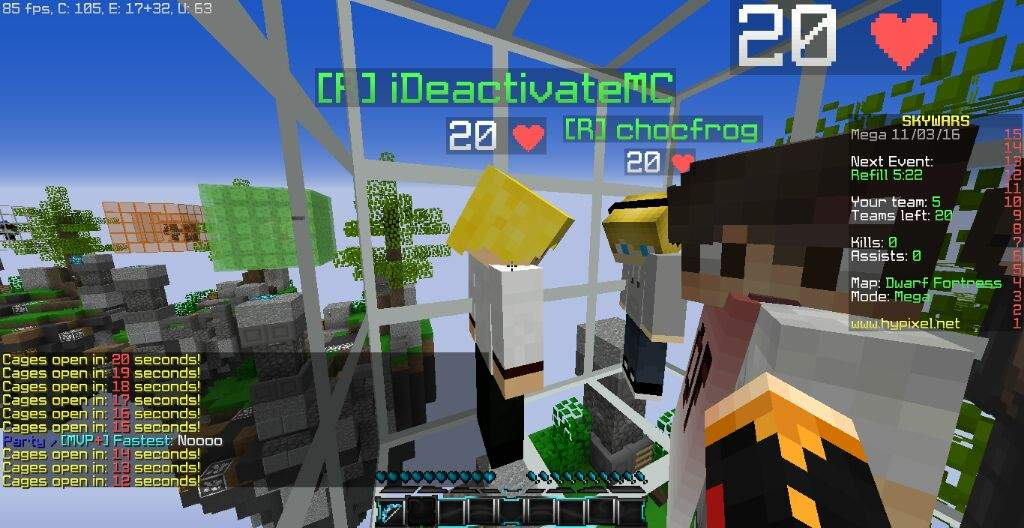 Many posts in one!! (I met iDeactivate!) | Minecraft Amino