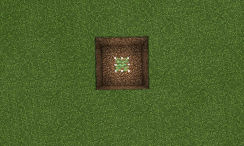 Minecraft how to make a slime trampoline minecraft amino then add a sticky piston in the middle of the square and a slime block on top of the sticky piston ccuart Image collections