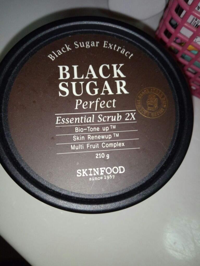 Black Sugar Perfect Scrub Foam by Skinfood #10