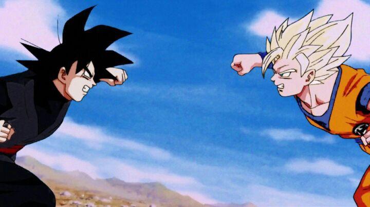 Dragon ball super con animaci n de los 90 goku vs black - Imagenes con animacion ...