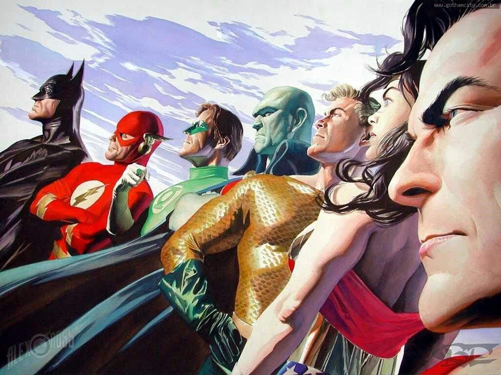 Alex Ross Melhor Ilustrador Comics Portugues Amino