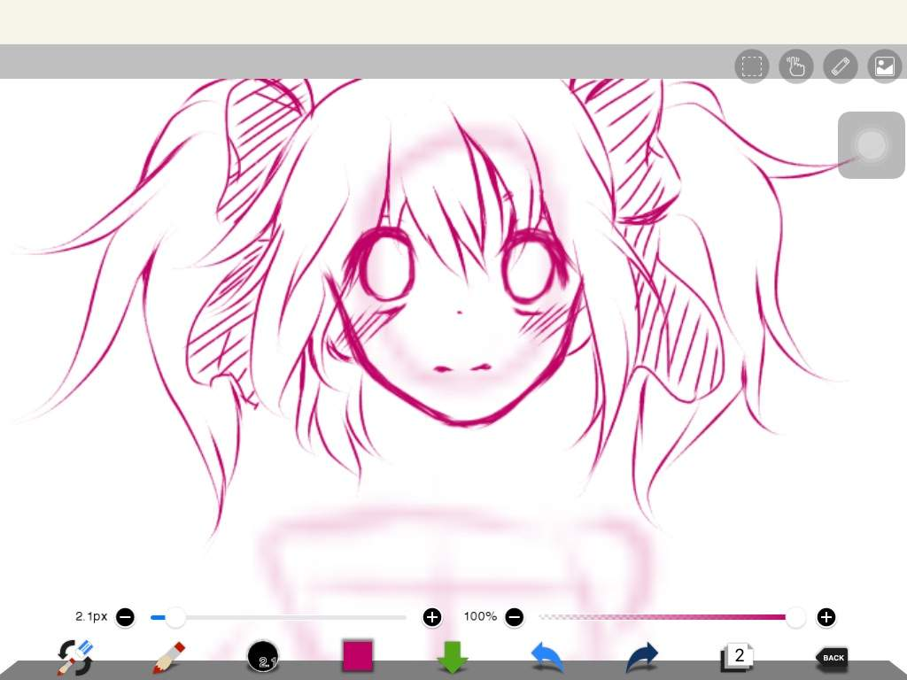 After I Drew The Pose Wanted Started Off Sketching Face First Then Hair And Other Details