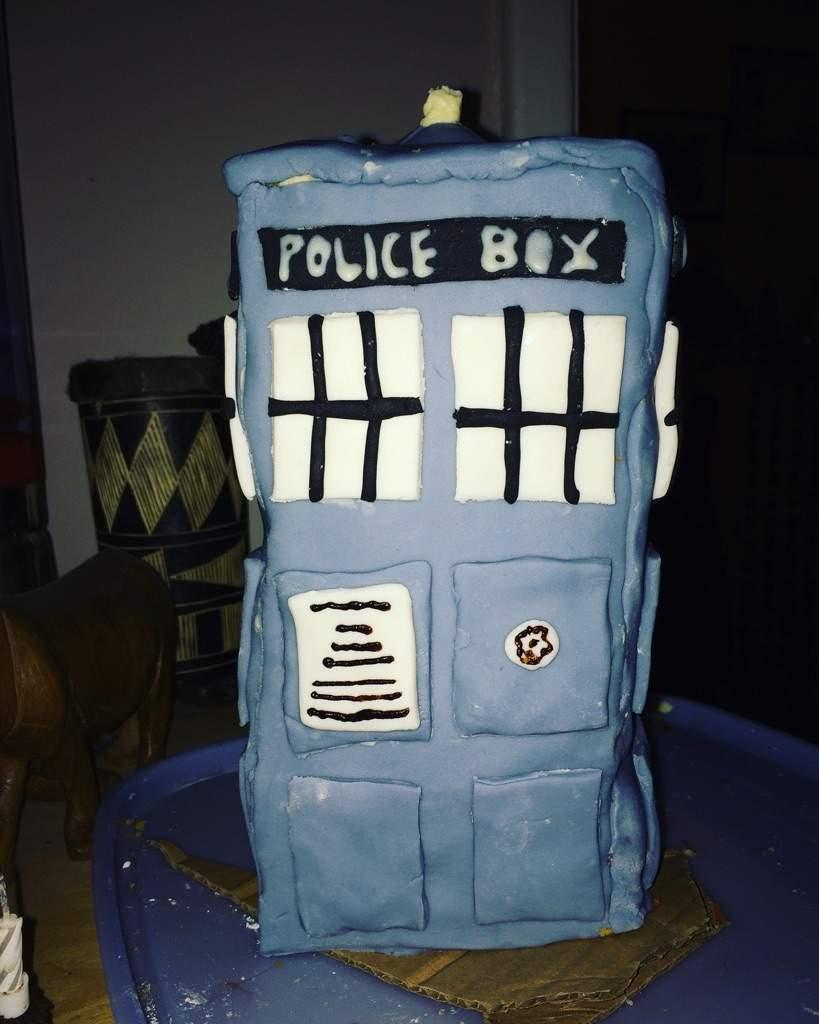 My Amazing Birthday Cake Doctor Who Amino