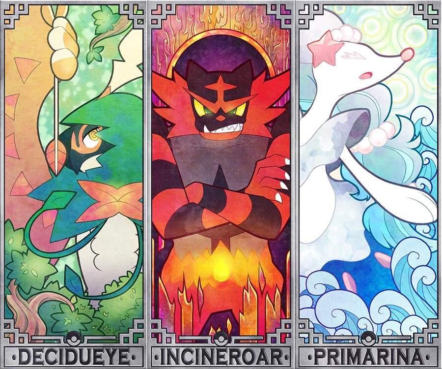 Best Gen 7 Starter Pokémon Pokémon Amino