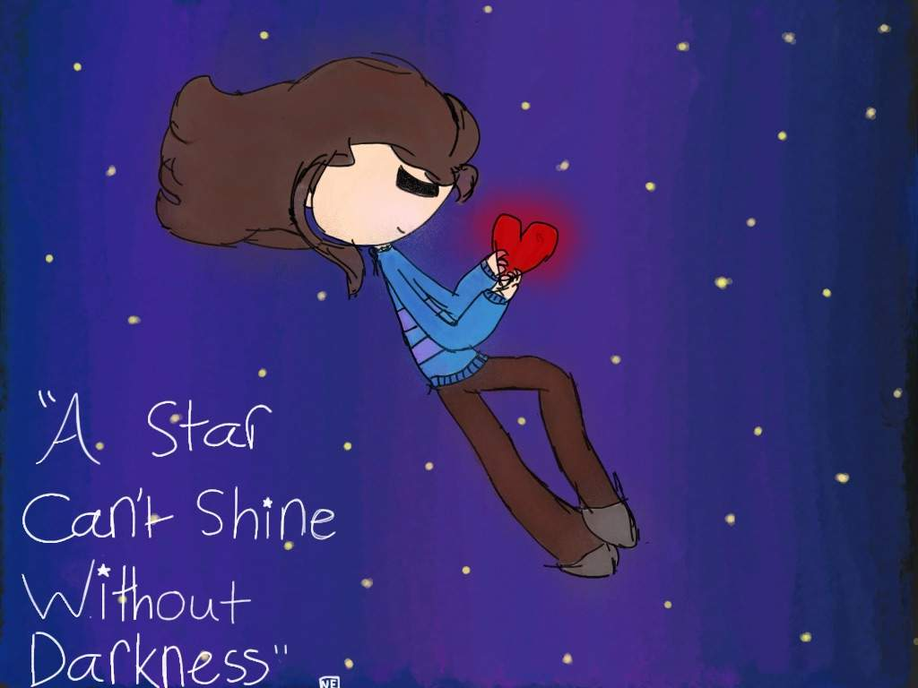A Star Cant Shine Without Darkness Undertale Amino