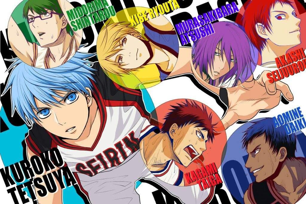 Kuroko No Basket Generation Of Miracles Character Analisys Anime Amino