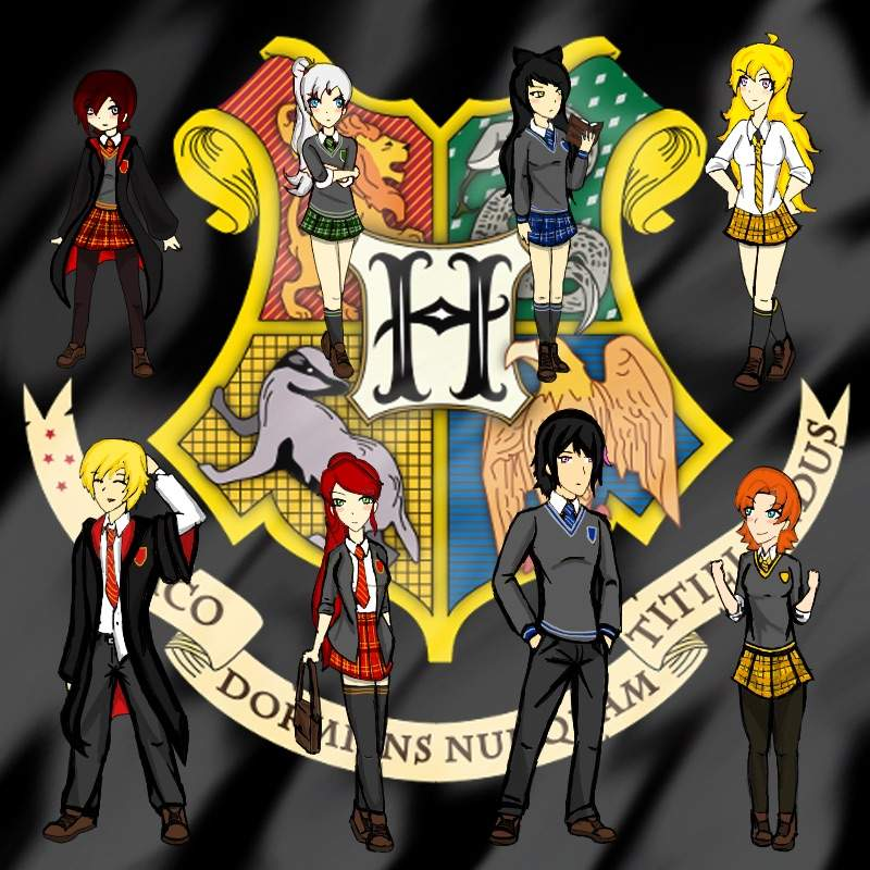 Harry Potter & RWBY Crossover | Harry Potter Amino