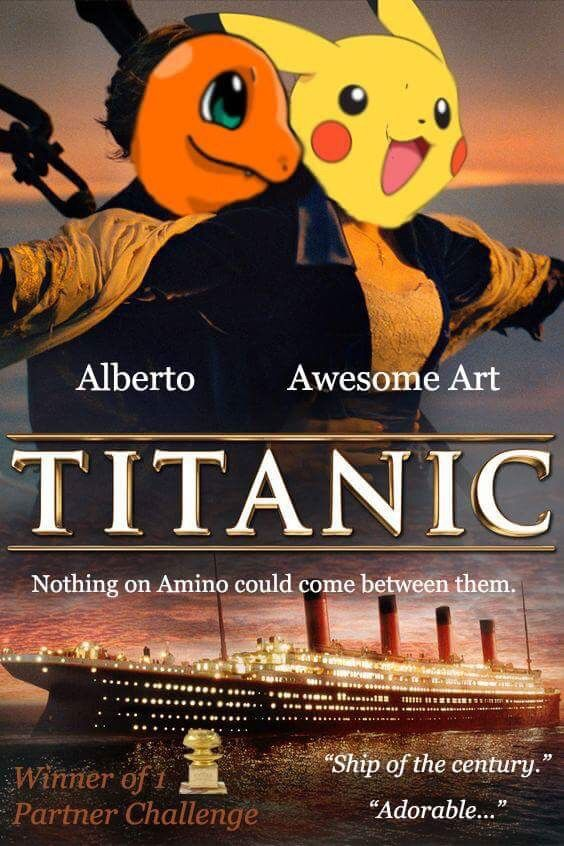 Pga Titanic Movie Poster Pokemon Go Amino