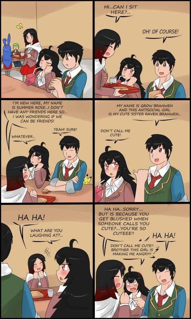 RWBY Comic: Don't call me cute ! | RWBY Amino
