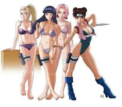 Chicas Sexis De Naruto Anime Amino