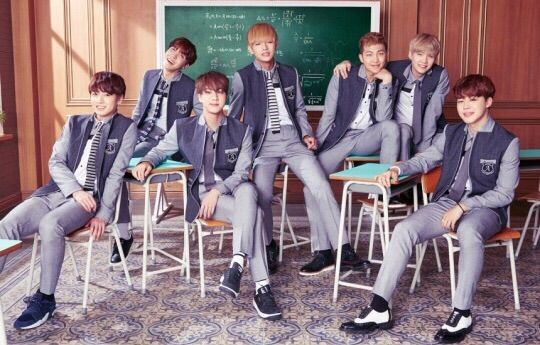 if bts were your classmates army s amino