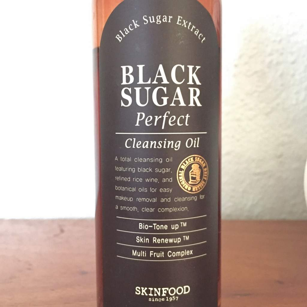 Black Sugar Perfect Cleansing Oil by Skinfood #18