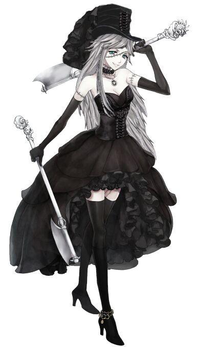 Butler Girl Assassin Drawing Anime Amino