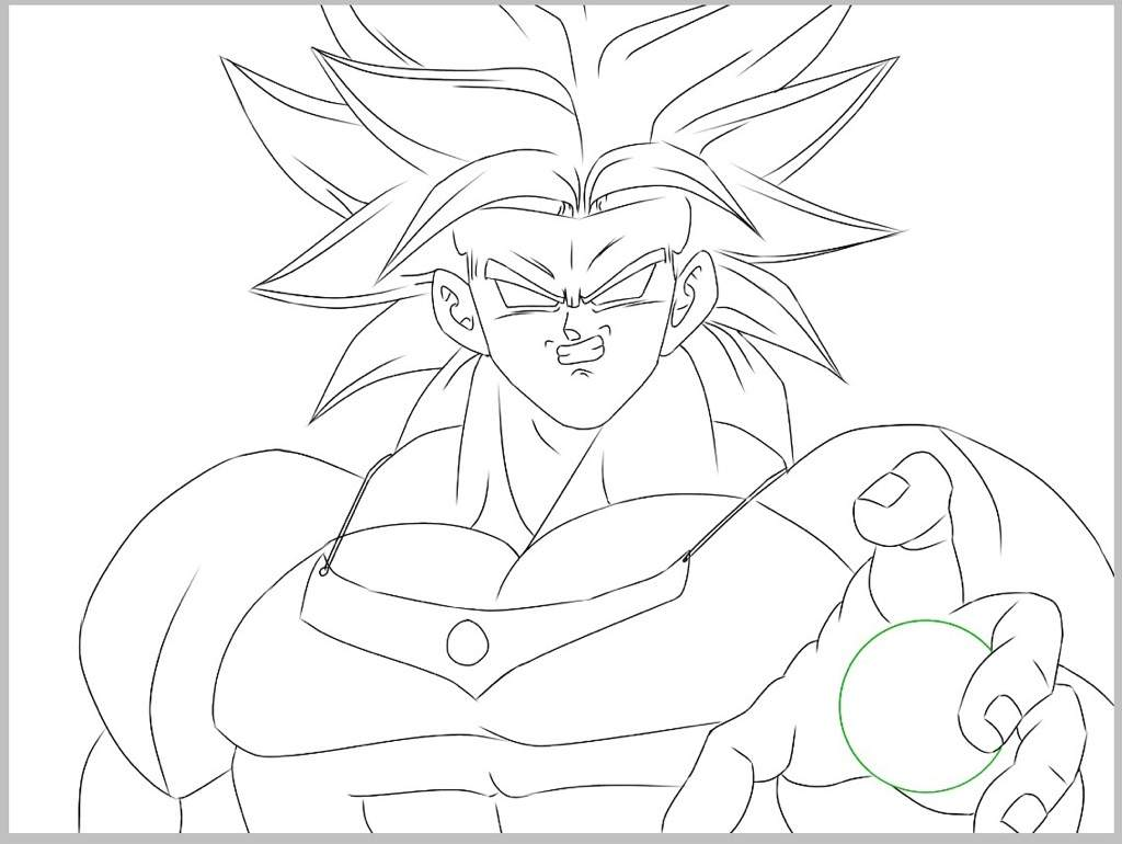 How to Draw LEGENDARY SUPER SAIYAN BROLY (Dragon Ball Super: Broly ... | 770x1024