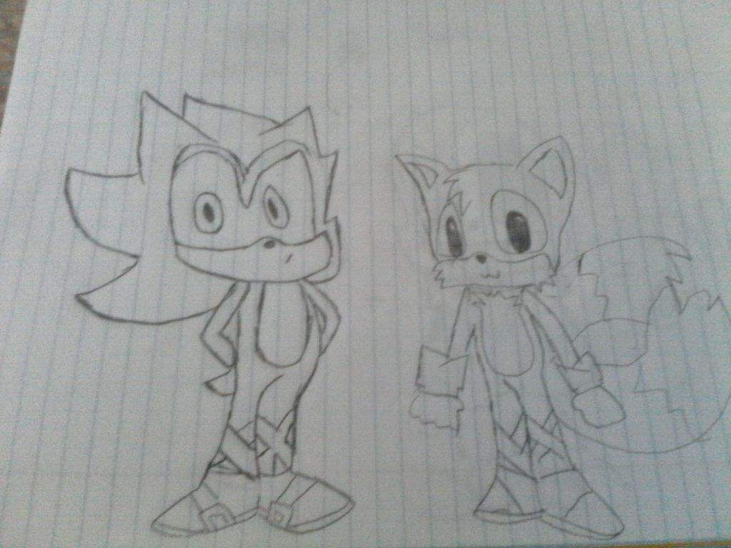 SUPER SANIC AND TAILS | Sonic the Hedgehog! Amino