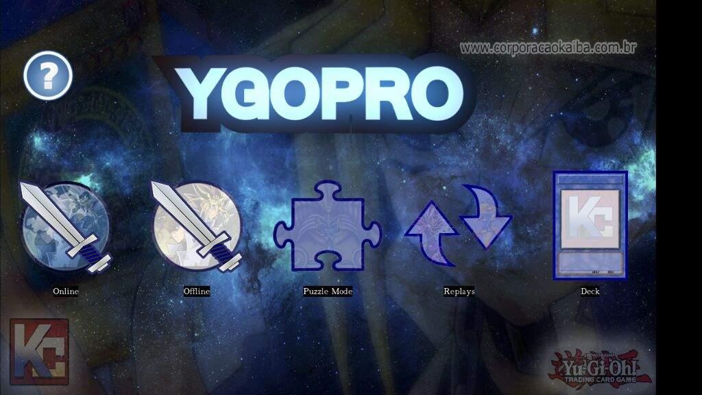YgoPro 100% traduzido (Versão desenvolvida pela nossa parceira