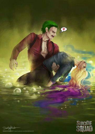 Harley Quinn Joker Escena Juramento De Amor