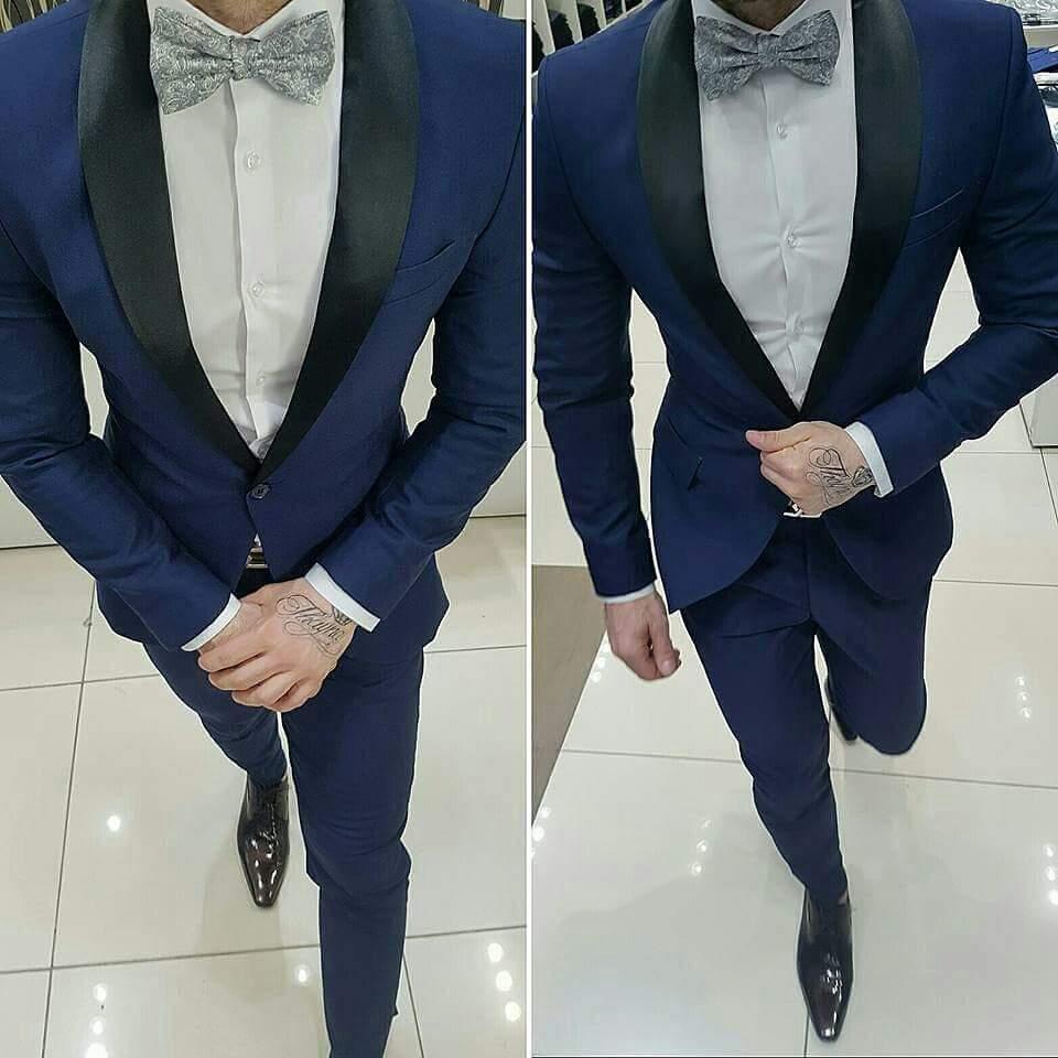 Trajes Elegantes y Ceñidos Moda Hombre  688a38731b9