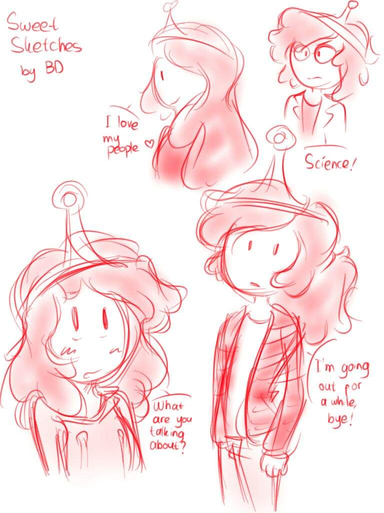 And Ever Since I Made A Favourite About Princess Bubblegum Was Suddenly So Inspired To Draw Her Did Here They Are