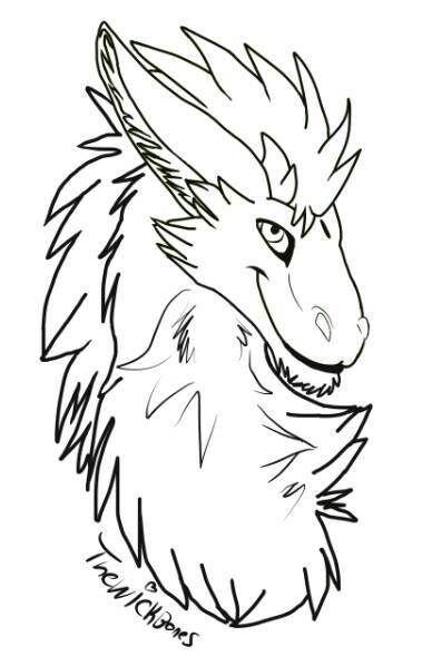 dutch angel dragon free lineart furry amino