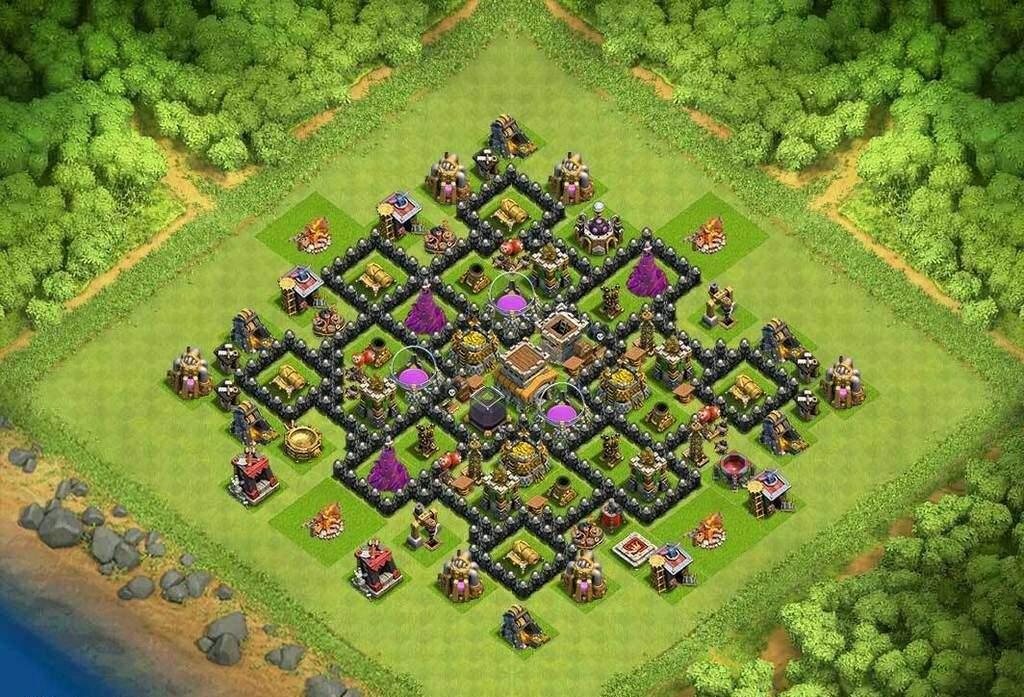 É bom meu layout de cv8 clash of clans pt br amino