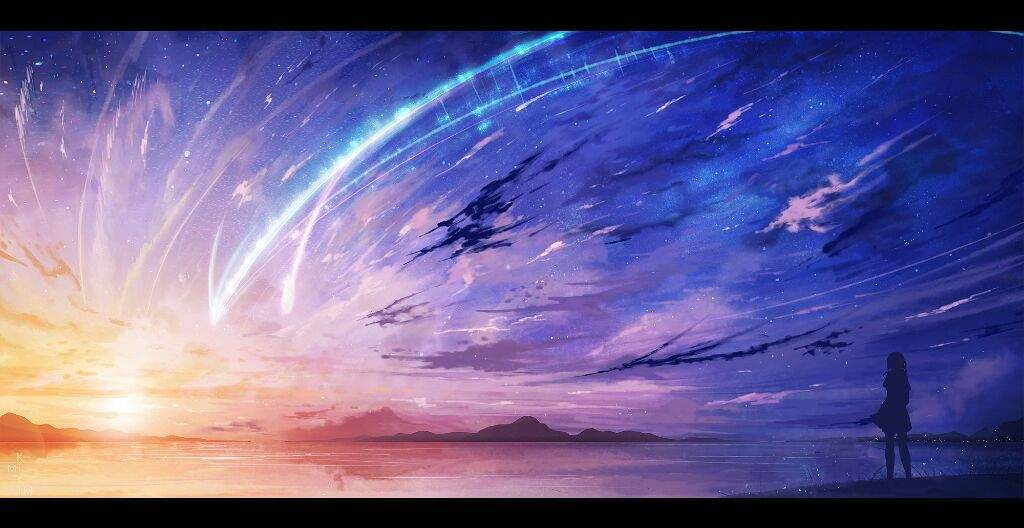 Image result for anime sky