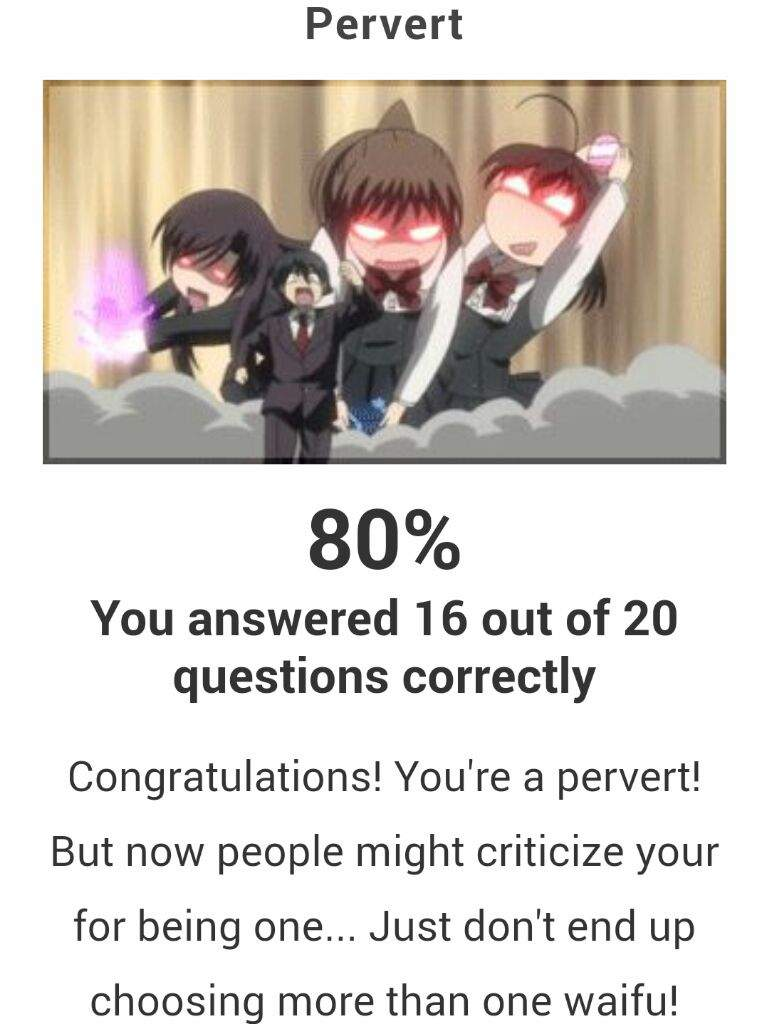 Am ia pervert quiz