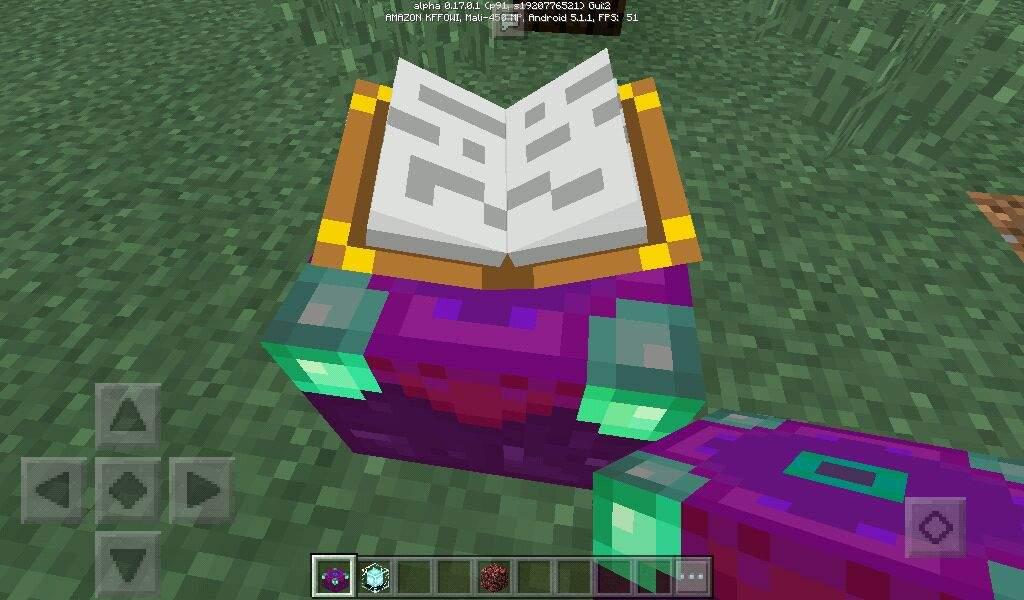 My custom enchantment table design  | Minecraft Amino