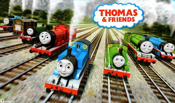 The Main Characters Of Series Are Apart North Western Railway Also Known As Steam Team Thomas