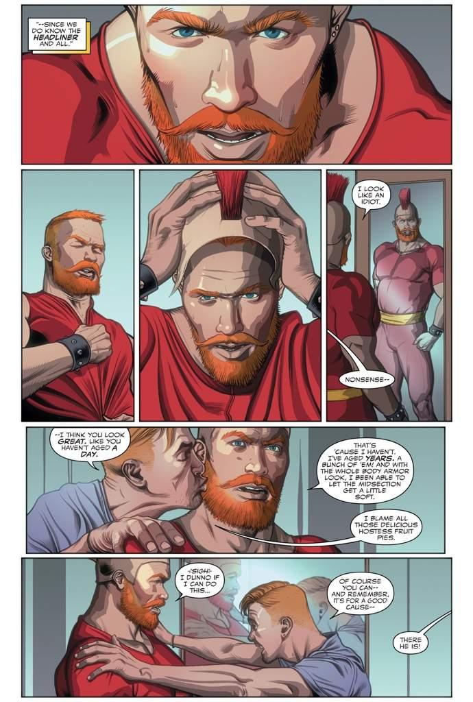 comic Gay adult