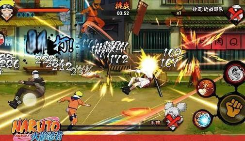 Os Melhores jogos de Naruto para android | Naruto Shippuden