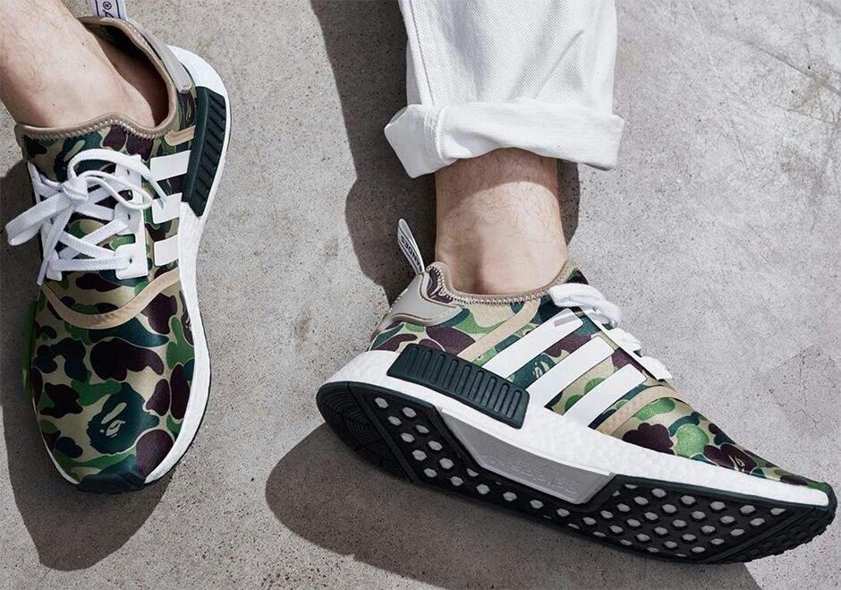 bape x adidas nmd sneakerheads aminoacidi