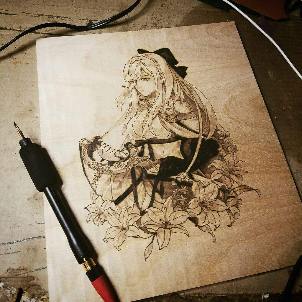 Image result for Wood Burning Art