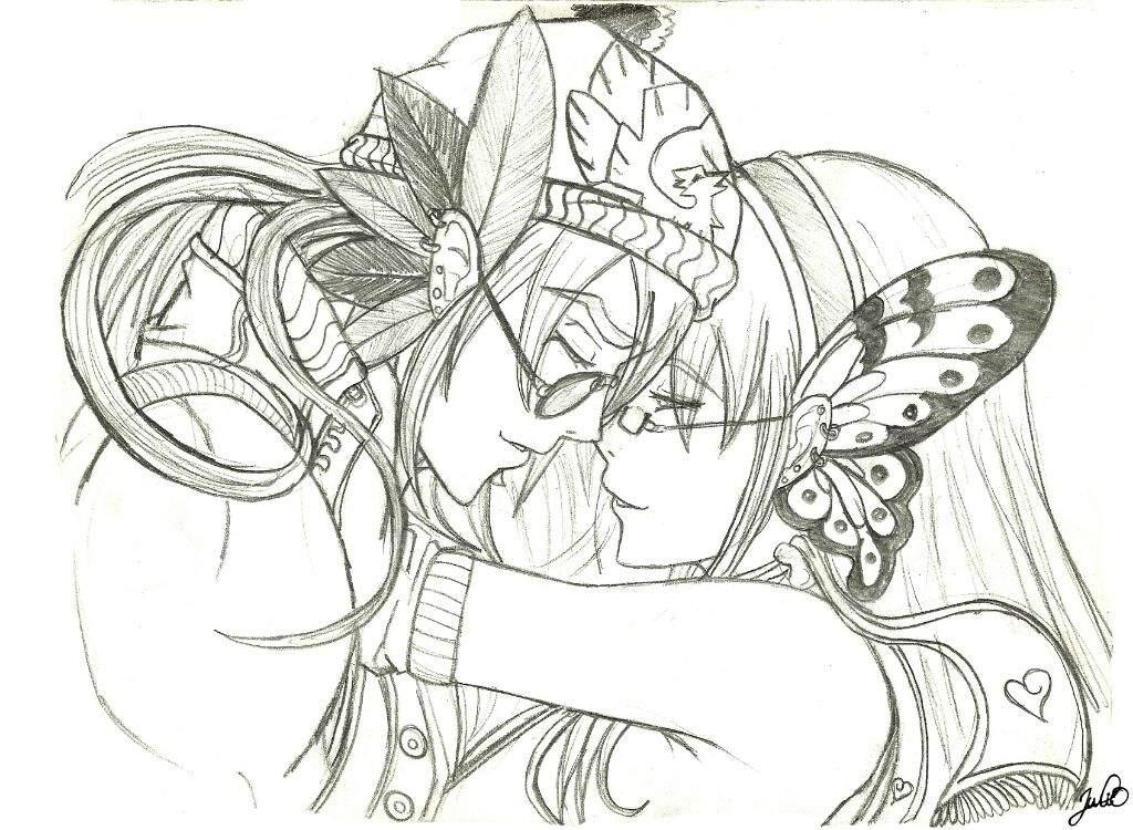 Amor Y Gafas Arte Amino Amino