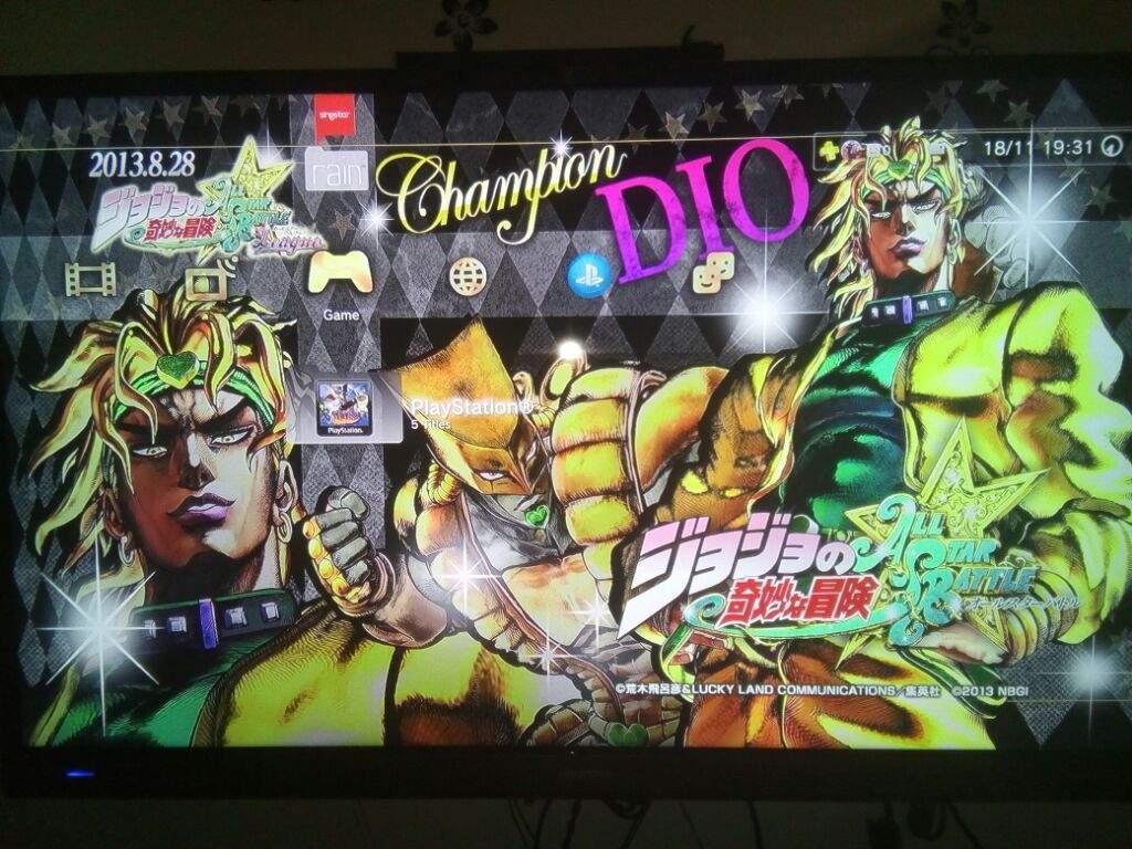 DIO Theme for PS3 | JoJo Amino Amino