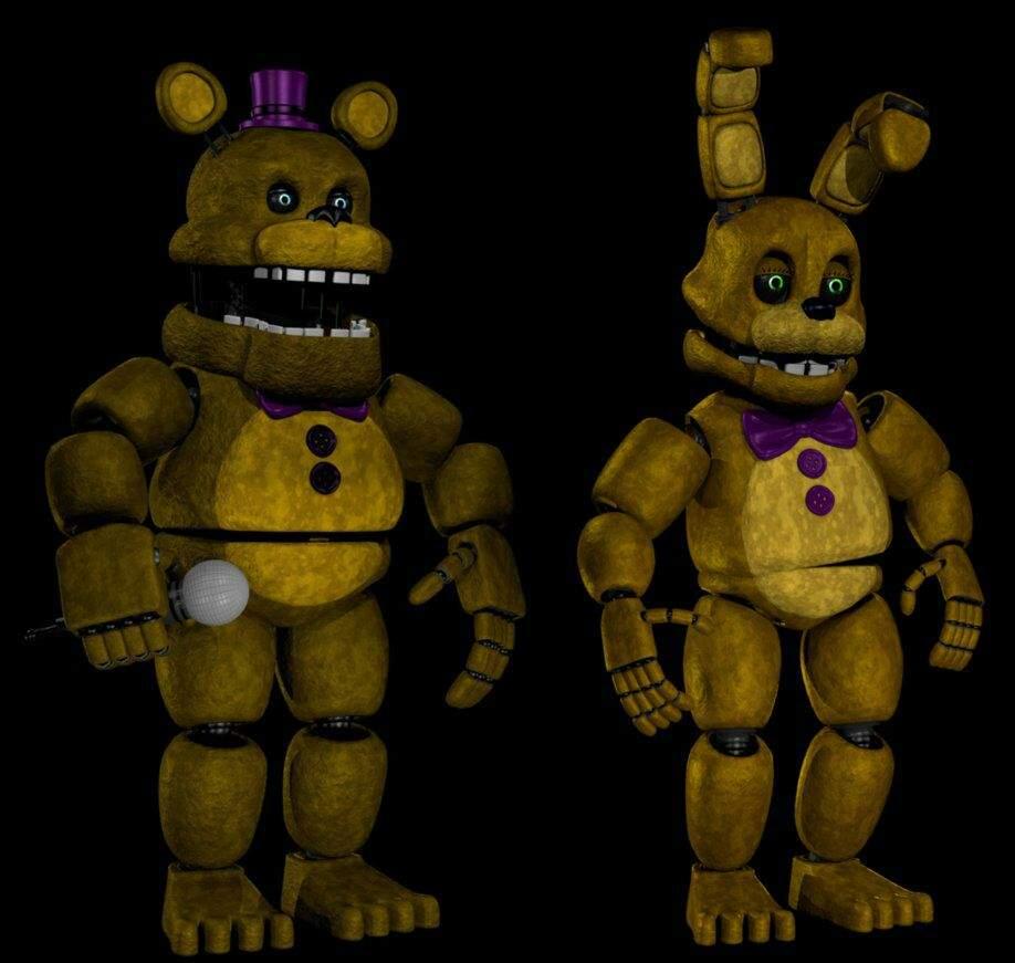 Fredbear And Spring Bonnie [theory]