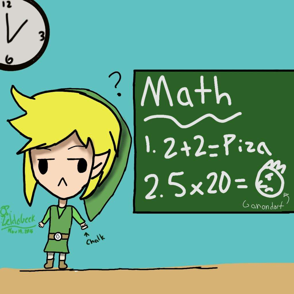 Link At School Zelda Amino