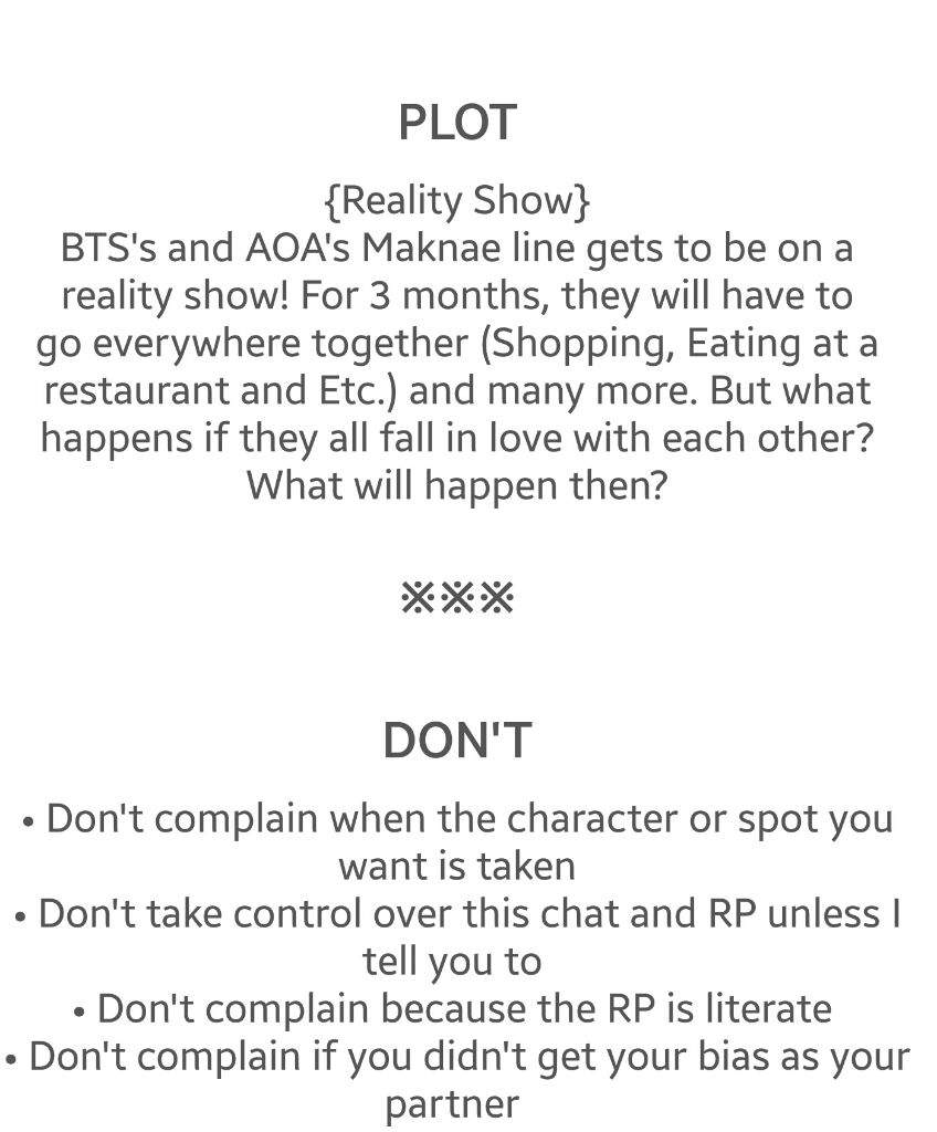 How to: RP and other information • | K-Pop Amino