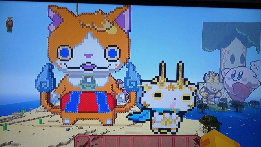 Yo Kai Pixel Art Yo Kai Watch Amino